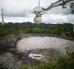 """телескоп обсерватории """"Аресибо"""" в Пуэрто-Рико"""