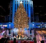 В Нью-Йорке состояласьцеремония открытияглавной елки США