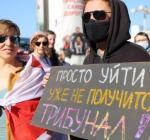 В Минске проходит субботний женский марш