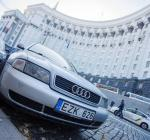 В Украине начали штрафовать водителей автомобилей на еврономерах