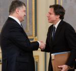 Госсекретарь США провел встречу сПорошенко