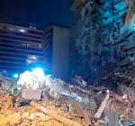 В Майами частично обрушилась жилая высотка