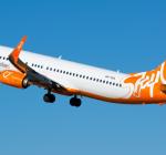 Самолет авиакомпании SkyUp
