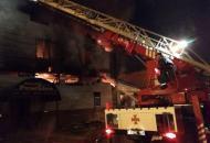 Харьков, пожар