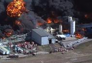 Техас, пожар, взрыв