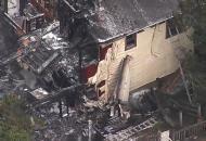 в США самолет рухнул в дом