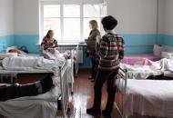 занятость больничных коек в Украине