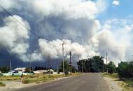 пожар на Луганщине