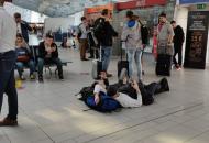 застряли в аэропорту