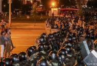 Стихийные протесты в Беларуси