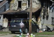 США, пожар, детский сад