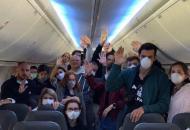 """рейс """"Доха-Киев"""" с украинцами на борту"""