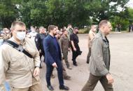 Зеленскийприбыл в Луганскую область