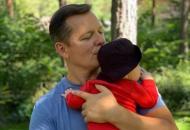 Ляшко впервые показал лицо своего трехмесячного сына