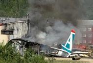 Россия, крушение самолета