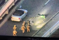 Киев, мост, полиция, теракт