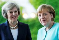 мэй и меркель вместе