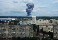 Россия, взрыв на заводе
