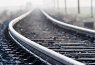 Луганская, железная дорога