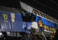 Чехия, столкновение поездов