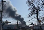 Симферополь, пожар