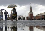 Москва, непогода
