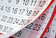 календарь, выходной день