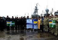 Мариуполь, акция поддержки украинских моряков