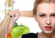 полоскание волос яблочным уксусом