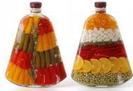 декорирование бутылки для кухни