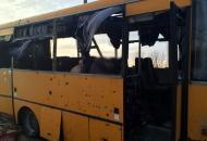 Волноваха, обстрел автобуса