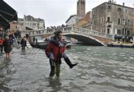 Италия дожди