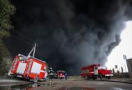 пожар на нефтебазе