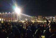 Кыргызстан протесты