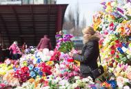 пластиковые-цветы