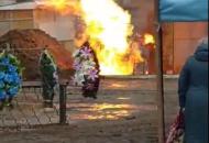 лисичанск горит газопровод