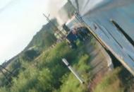 горит-поезд