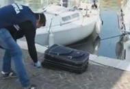 чемодан река