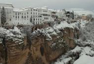 снегопад италия