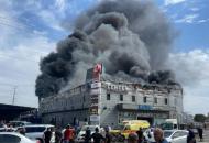 пожар в торговом центре