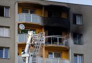 В Чехии жертвами пожара в жилой многоэтажке стали 11 человек