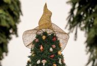 С главной елки Украины сняли шляпу