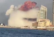 Ливан, Бейрут, взрыв