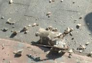 Львов, обрушение балкона