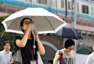 Япония, жара