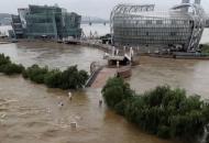 Южная Корея, наводнение
