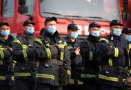 Жители Луганщины поблагодарили спасателей за тушение масштабных пожаров