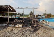 Ивано-Франковская, пожар