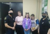 Две 11-летние беглянки из Лисичанска