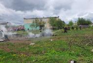 В Беларуси потерпел крушение военный самолет
